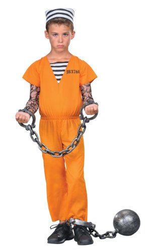 Jail Breaker Child Costume