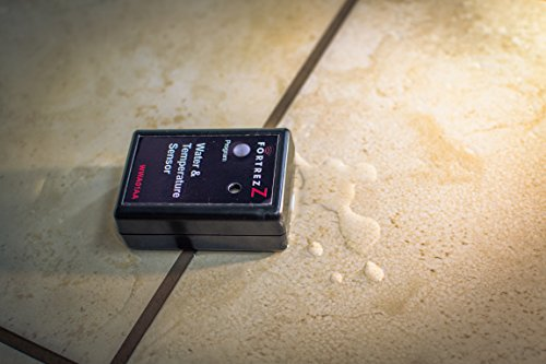 FortrezZ Wireless Z-Wave Water & Temperature Alarm w/LED