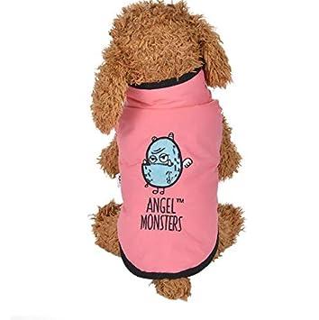 T.w.o.teams Ropa para Mascotas Abrigo para Perros Chaqueta de Invierno para Mascotas Abrigo Caliente para Mascotas Abrigo frío (Rosado XXL): Amazon.es: ...
