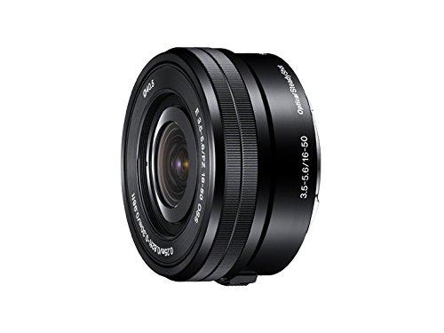 ソニー SONY 標準ズームレンズ E PZ 16-50mm F3.5-5.6 OSS ソニー Eマウント用 APS-C専用 SELP1650  ブラック B009Z3PC10