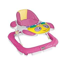 andador para bebé regulable en altura y musical