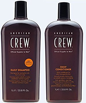 American Crew Daily Shampoo and Conditioner 33.8 Fl. Oz. by AMERICAN CREW