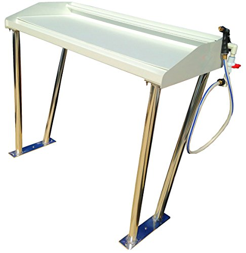 Greco Aluminum Railings Fish Cleaning Table