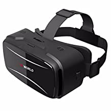 3D VR Glasses,ELEGIANT Smart Virtual Reality Headset Goggles, for 3D Movies Video Games, Box, for iPhone,Samsung, Android and 4.0-6.0 inch Smartphone for Video Movies Games