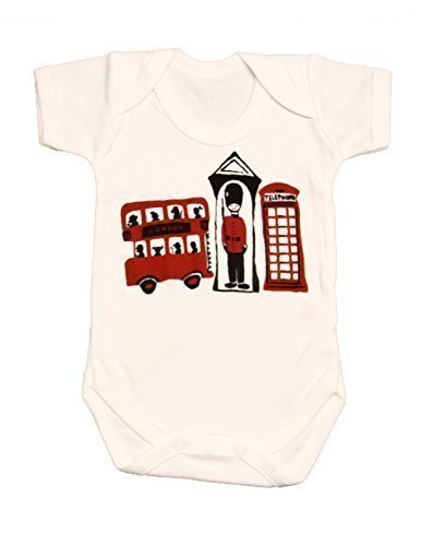 London Baby-Boys' London 3 Souvenir Suit Vest