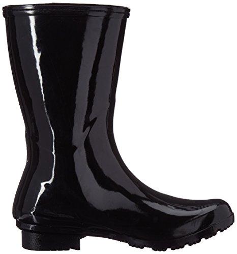EMMA Boots Boots Mid Women's Rain Black Roma SzwqEp