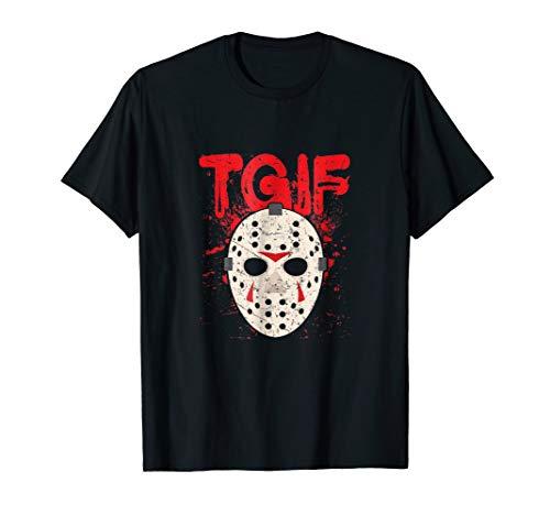 TGIF Thank God It's Friday Halloween Scary Movie Shirt ()