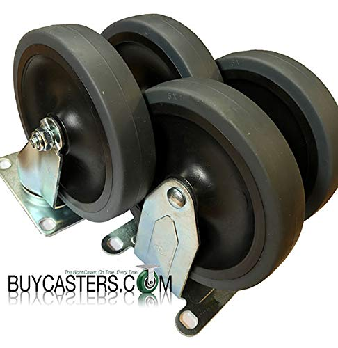 Rubbermaid Cart Replacement Wheels - Rubbermaid Cart Casters - 5
