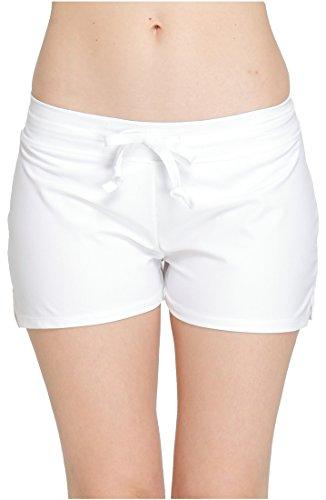 ilishop Women's Multipurpose Summer Boardshorts Lace-up Beach Shorts