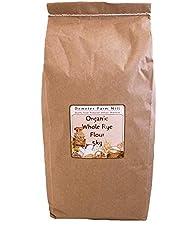 Demeter Farm Mill Organic Whole Rye Flour, 5kg