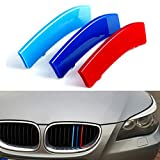 for 04-10 BMW 5 Series E60 (11 grilles one Side) 3D M Styling 3...