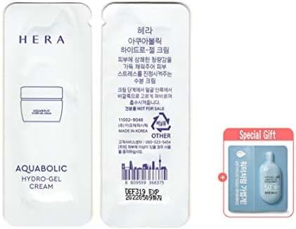 32pcs X Hera Aquabolic Hydro Gel Cream, 30 Sample Sachets (New 2019), Super Saver than Full Size