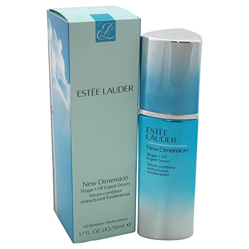 Estee Lauder Women's New Dimension Shape + Fill Expert Serum, All Skin Types, 1.7 (Dimension Shape)