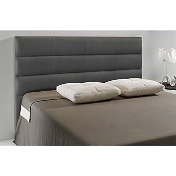tte de lit similicuir extreme couleur gris fonc mesure lit de 120 - Lit En 120 Cm De Large