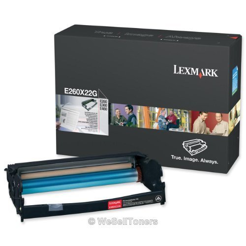 Lexmark E260X22G OEM Miscellaneous - E260 E360 E460 E462 ES460 X264 X363 X364 X463 X464 X466 XS463 Photoconductor Kit (30000 Yield) OEM by Lexmark
