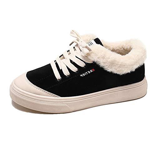 Warm Suede yanjing 37 Un Snow Female Casual Faux Donna Donne He Vulcanize Women Da Dimensione Sneakers Scarpe Nuove colore Up Shoes D Moda Lace EdWqann
