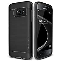 Galaxy S7 Case, VRS Design [High Pro Shield][Steel Silver] - [Military Grade Protection][Slim Fit] For Samsung S7