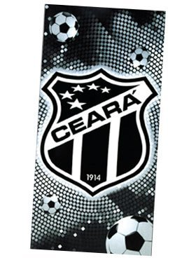 Uiowsbe Authentic Ceará Soccer Team Beach Towel - Type II | Toalha de Praia Oficial do Ceará Modelo 02 by Uiowsbe