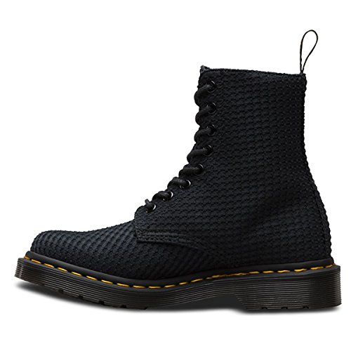 Dr. Martens Women's Page 8 Eye Boot,Black Waffle Cotton,UK 4 M by Dr. Martens (Image #4)