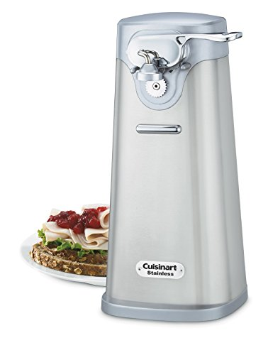 Cuisinart SCO-60 Deluxe Brushed Stainless Steel Electric Can Opener Deal (Large Image)