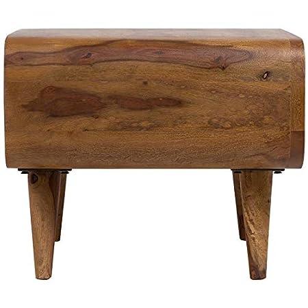 Amazon.com: Hawthorne Collections Oslo - Mesita de madera ...