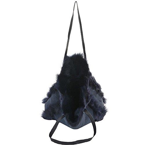 Ashwood Leather, Borsa a zainetto donna blu Blue
