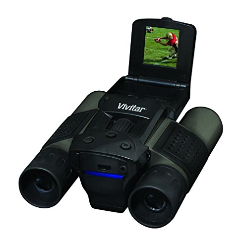 Vivitar VIV-CV-1225V 8MP 2-in-1 Binoculars and Digital Camera, Black (Vivitar Digital Photo Frame)