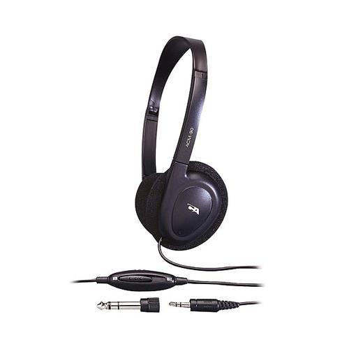 Cyber Acoustics ACM-90b PC/Audio Stereo Headphone, Stereo He