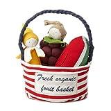 Organic Fruit Tote - Organic Egyptian Cotton Plush Teething Toys
