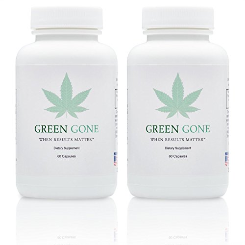 Green Gone 10 Day THC (Marijuana) Detox Kit - Permanent Cleanse, (for Heavy Usage) with 5 THC Test Strips!