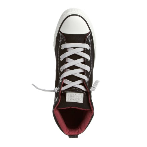 Converse CT Street Mid Black White Mens Trainers