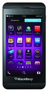 """BlackBerry Z10 4G LTE - Smartphone libre (pantalla táctil de 4,2"""", cámara 8 Mp, 16 GB, S.O. BlackBerry 10) Negro (importado)"""
