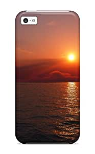 New Fashion Premium Tpu Case Cover For Iphone 5c - Morning Sunrise by icecream design