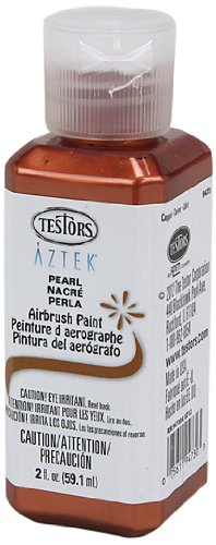 UPC 075611947303, Testors Airbrush Paint, Pearl Copper