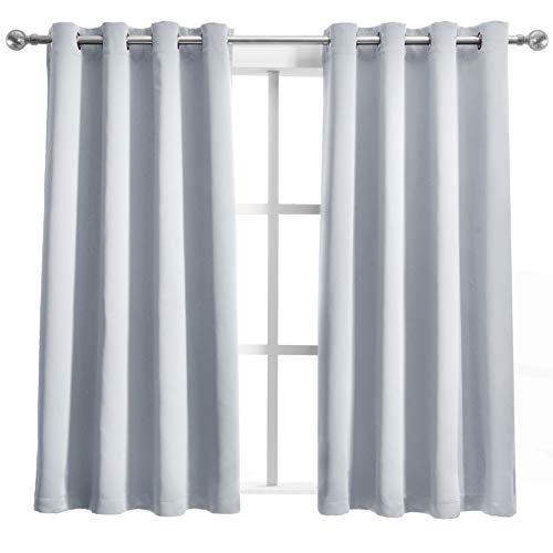 SHEEROOM Room Darkening Curtains Thermal Insulated Blackout