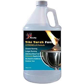 Amazon.com: Firefly Citronella Tiki Torch Fuel - 1 Gallon ...