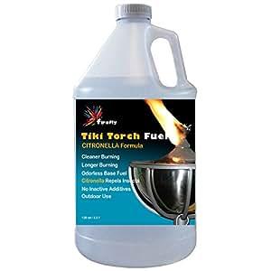 Firefly tf-128-c  Citronella Tiki Torch Fuel - 1 Gallon - Odorless Oil - More Economical