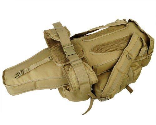 GEARDO Military Tactical Backpack Bag W/Rifle Holder Hiking Trekking Camping Daily EDC …