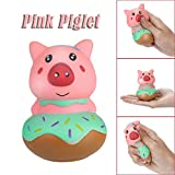 BBTshop Squeeze Stress Reliever Cute Pink Piglet Cream Scented Slow Rising Toys Gifts