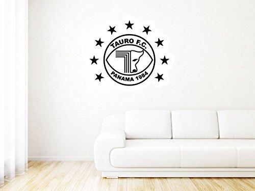 "Tauro FC - Panama - High Quality Wall Graphic Decal - 25"""