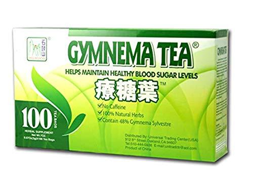 Gymnema Green Tea For Diabetics, No Caffeine ()