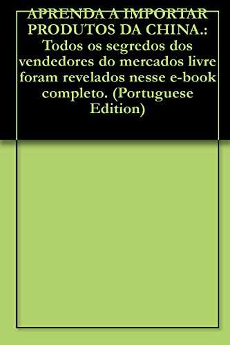 Ebook Como Comprar Da China