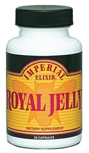 Imperial Elixirs, Royal Jelly 500mg, 50 Capsules from Imperial Elixirs