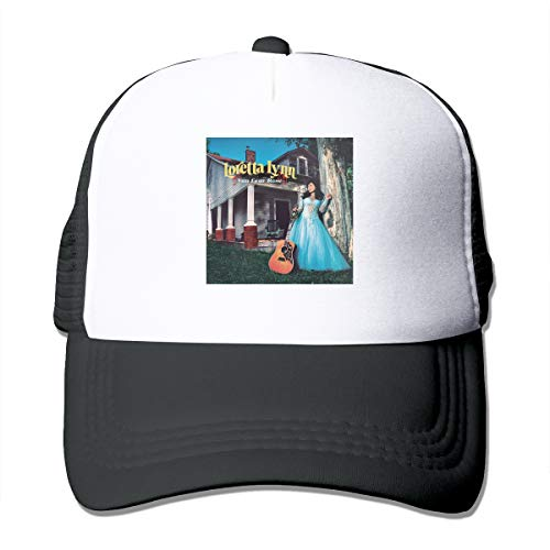 BobBThorpe Unisex Loretta Lynn Van Lear Rose Music Theme Hat Adjustable Baseball Cap,Sun Hat,dad Hat,Truck Hat -