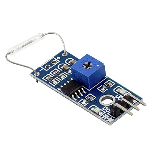 Moligh doll Reed Sensor Magnetic Switch Module Normally Open AVR ATMega PIC Pi