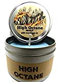 High Octane - Racing Fuel- 4oz All Natural Soy Candle Tin (Take It Any Where) Handmade