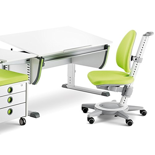 Moll Schreibtisch Joker Weiß Höhenverstellbar Von 53 82 Cm