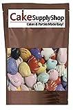 Edible Beach Sea Side Rocks For Cake Decoration and Candy Buffets (8oz Chocolate SeaShells)
