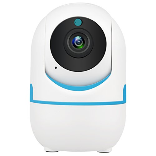 DEFEWAY 1080P Wireless IP Camera,Home Wifi Security Surveillance Camera for Baby/Elder/Pet/Nanny Monitor,Pan/Tilt, Two-Way Audio E1W (White)