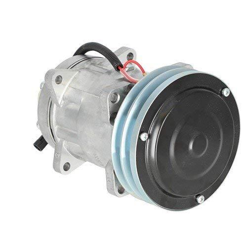 Air Conditioning Compressor Case IH 7120 2366 1644 2388 7130 1666 2344 1660 2188 2144 1680 2166 1688 1640 Case McCormick Hesston Massey Ferguson Challenger / Caterpillar New Holland New Idea AGCO ()